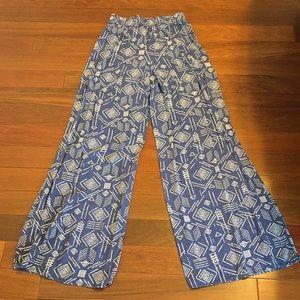 Mossimo printed boho pants